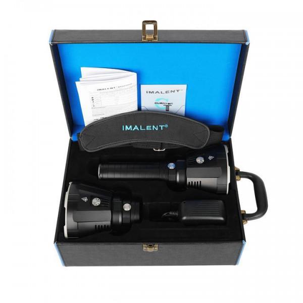 Imalent MR Kit MS18 - R90TS LED Taschenlampenset, 100.000 Lumen