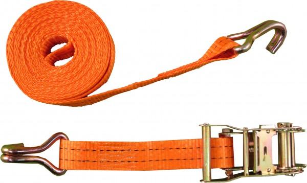 Zurrgurt 35mm, 1000daN - 2000daN, 6m, orange