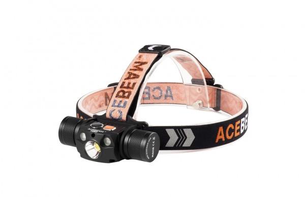 AceBeam H30 mit Rotlicht und CRI 5000 Kelvin
